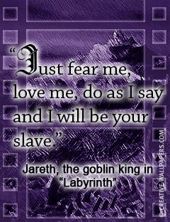 Labyrinth:  paul forgot this part of our vows.   lol!