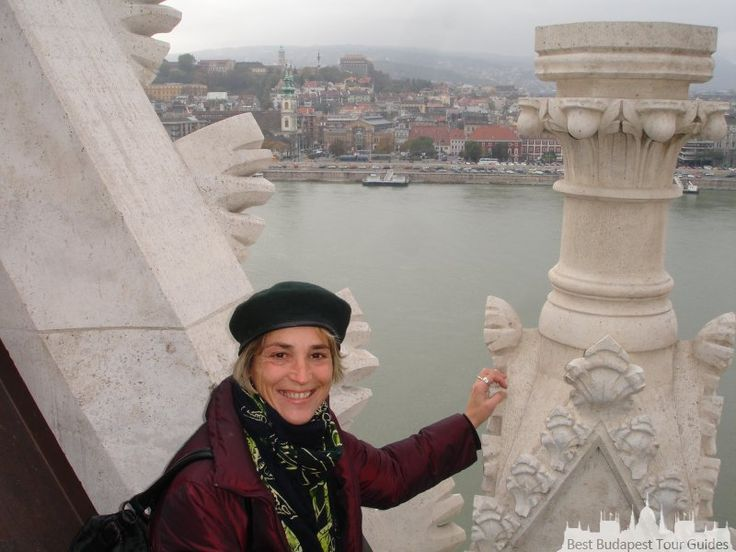 On top of Matthias church!! Budapest