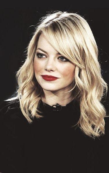 Admirable 1000 Ideas About Blonde Hair Bangs On Pinterest Platinum Blonde Short Hairstyles For Black Women Fulllsitofus