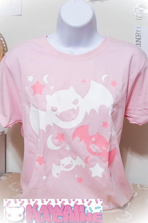 Kawaii Fairy Kei Pastel Bats Womens Halloween T Shirt S Through 2XL on Etsy, $28.61 CAD