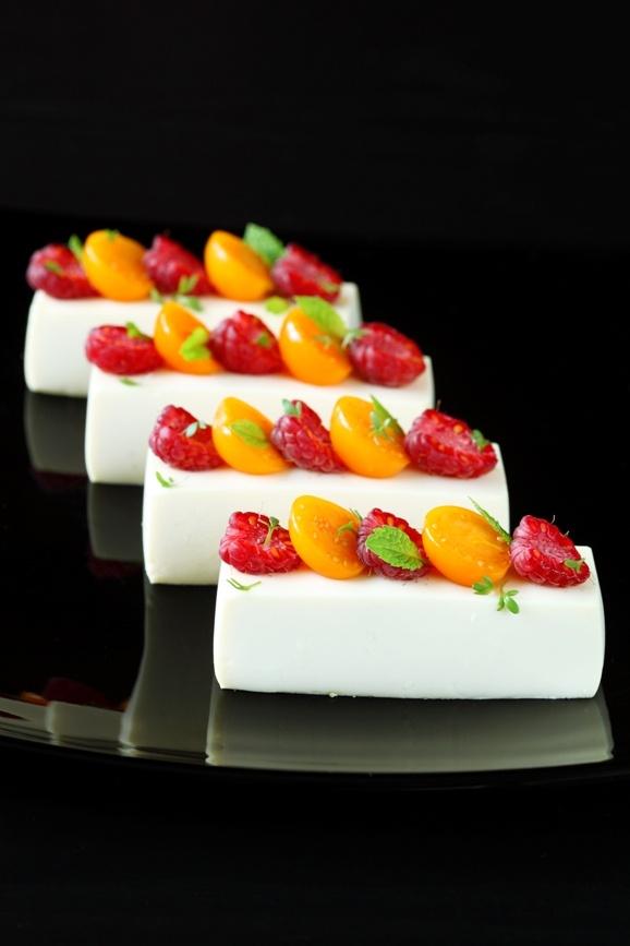 Verdade de sabor: Белый шоколадный мусс с жасмином / Mousse de chocolate branco e jasmim