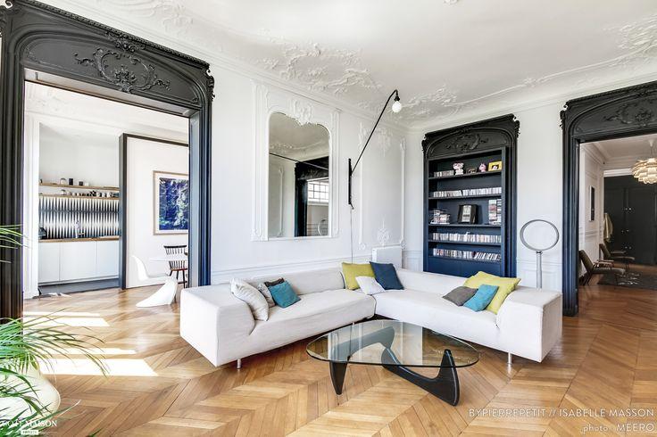 Rénovation d'un appartement Haussmannien dans le centre de Paris, BYPIERREPETIT - Côté Maison