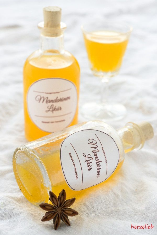 Mandarinenlikör zum Selbermachen