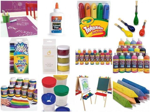 Toddler Art Materials: For Kids, Art And Crafts Toddlers, Art Ideas, Toddlers Art, Art Materials, Forget Crayons, Art & Crafts For Toddlers, Art Parents, Kids Art Activities