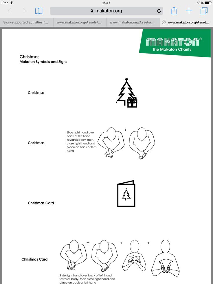 Christmas signs from Makaton. https://www.makaton.org/Assets/Store ...