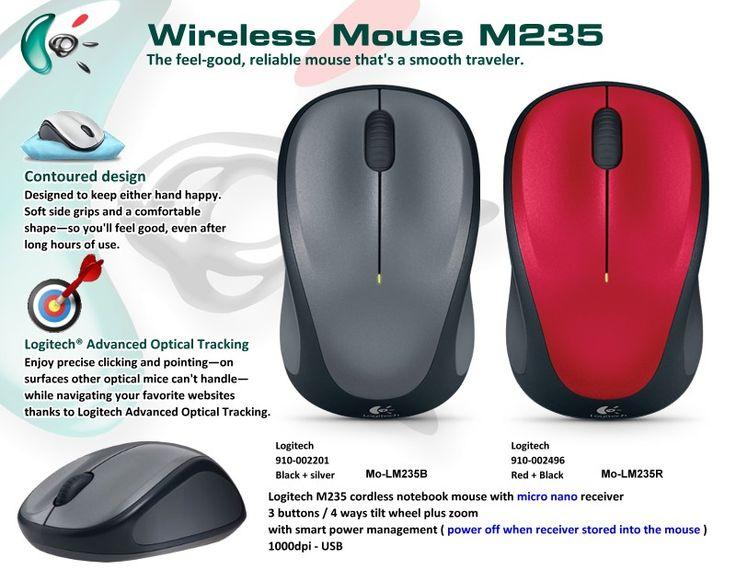 Microsoft Wireless Mouse M235