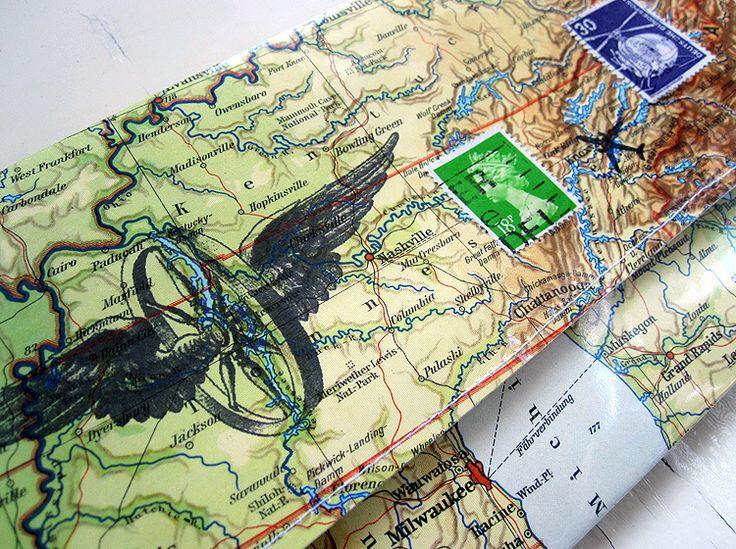 ATlas _ pochette carte - accompagnateur Voyage