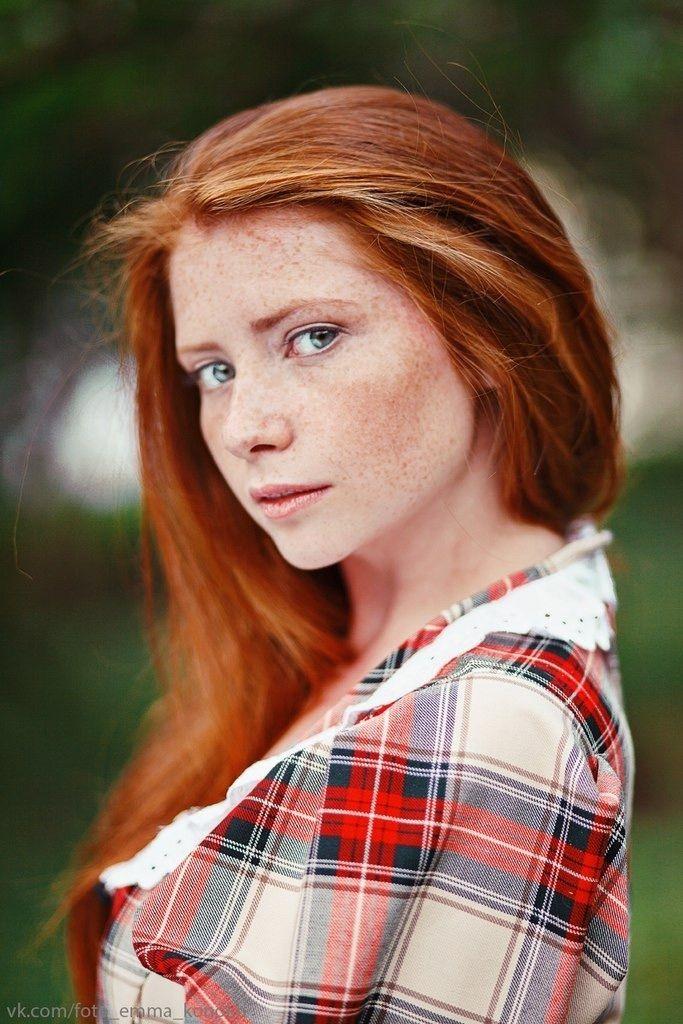 Hair highlights redhead