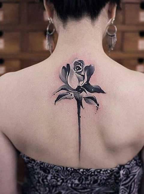 19 best Ideas de tatuajes en la espalda para mujeres images on