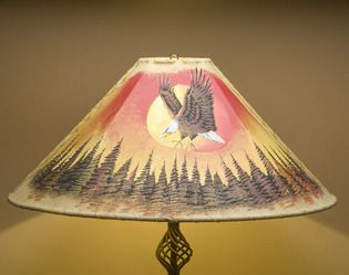Buy online painted lamp shades at genuine prices.