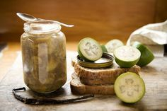 Feijoa jam with vanilla and fresh ginger recipe, Viva – visit Food Hub for New Zealand recipes using local ingredients – foodhub.co.nz