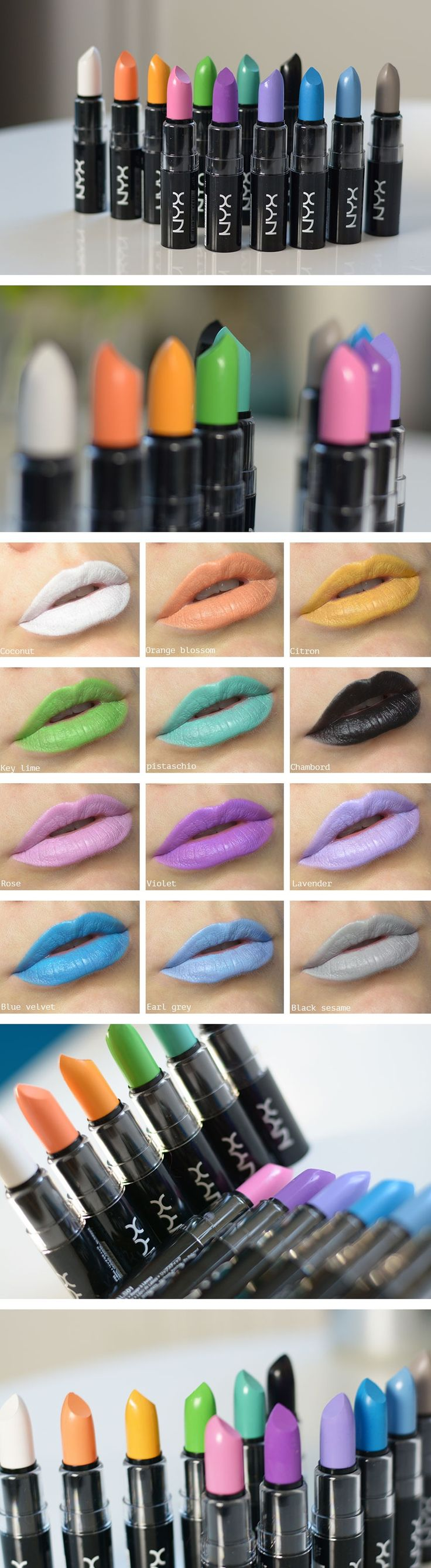 Linda gillar: Macaron Lippies - must buy the violet/purple!!!