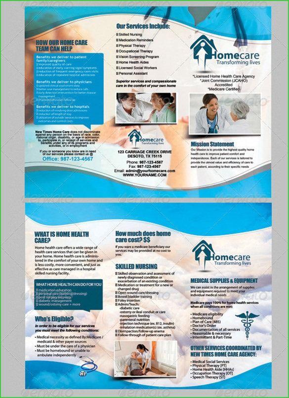 home care brochure template Acurnamedia Home health