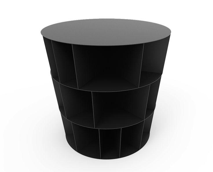 Niva-Bijzettafel-table-vakken-Design-Ontwerp-Meubel-Furnish22-Minimal-Furniture-Luxe-rond-simpel-rustig-Die tafel-klein-koffie-RVS-Roest vast staal-Metaal-Staal-Mooi-Dutch-NL-Nederland-Exclusief-afwerking