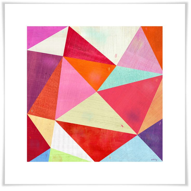Pink Triangle Art Print by twoems on Etsy https://www.etsy.com/listing/55035901/pink-triangle-art-print
