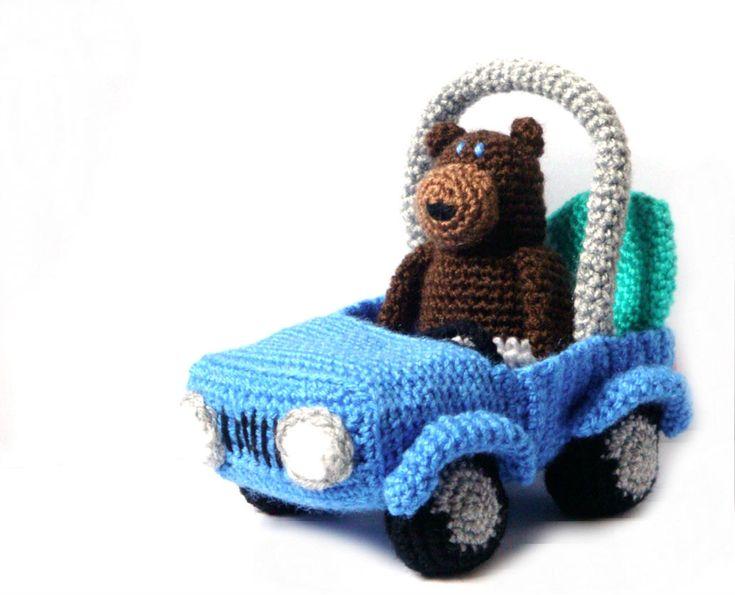 Amigurumi Patterns Cars : 320 best crochet cars trucks bikes images on pinterest crochet
