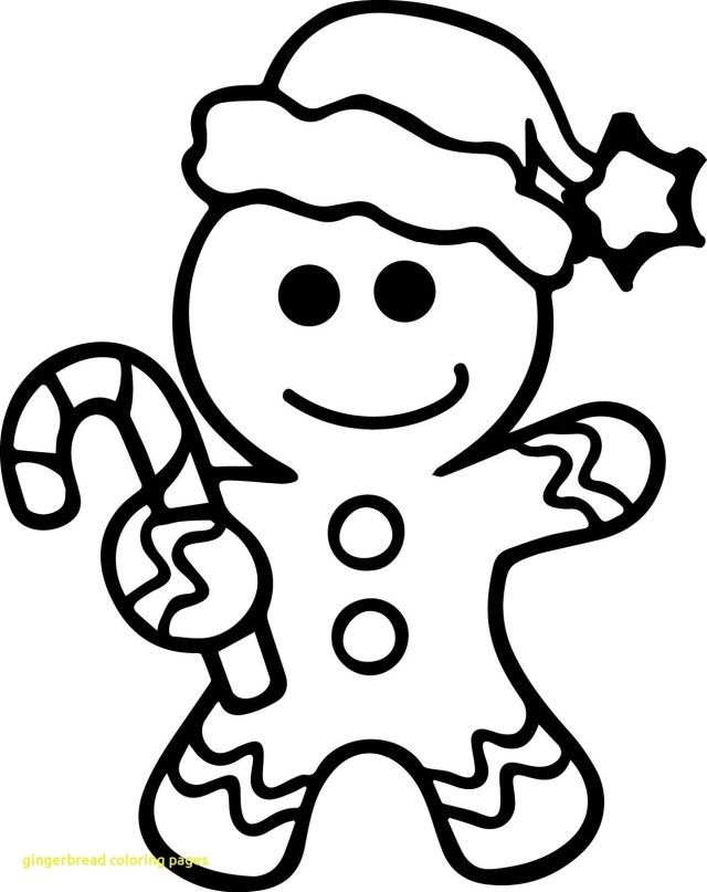 25 Creative Picture Of Gingerbread Coloring Pages Christmas