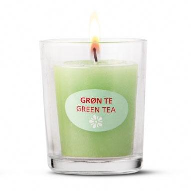 #greentea #candle
