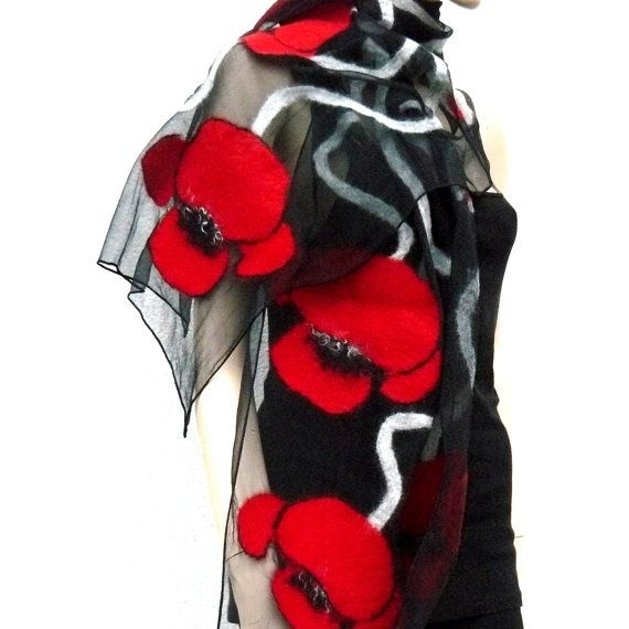 Nuno vilten handgemaakte sjaal, beste kwaliteit Australische Merino wol, zijde. Mooi. Dit is de grote sjaal op vakantie, maar het dagelijks leven ook.