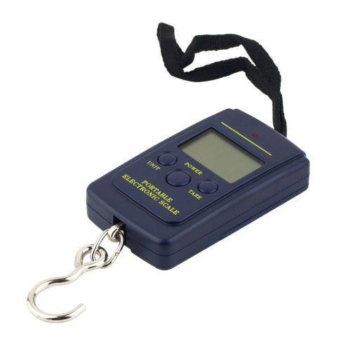 40 кг х 10 г портативные электронные весы с крючком для рыбаков