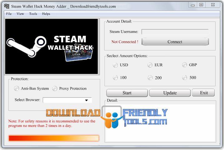 Steam wallet hack 2015 скачать
