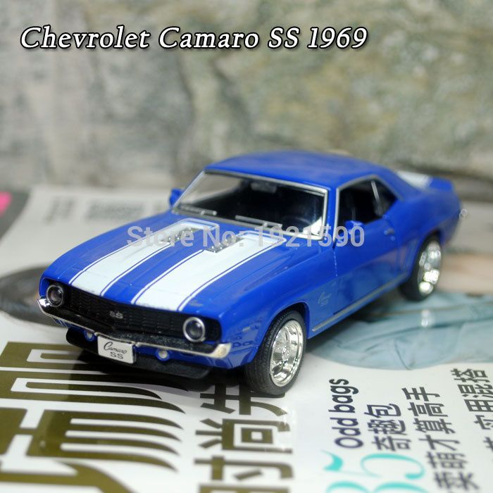 Brand New UNI 1/36 Scale USA 1969 Chevrolet Camaro SS Vintage Diecast Metal Car Model Toy For Collection/Gift/Kids