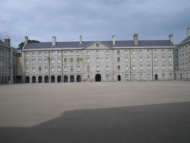 Collin's Barracks is a former military barracks in the Arbour Hill area of Dublin, Ireland. Housing both British armed forces, and Irish army garrisons through three centuries, the barracks are the oldest continuously occupied example in the world.