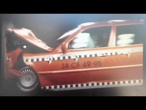 E38 BMW 7 serisi çarpışma testi | Araba Teknik Bilgi
