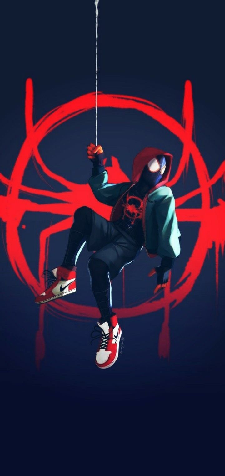 Pin On Spider Verse Phone Wallpapers