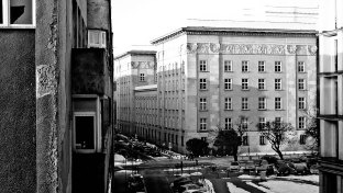 My window view March 2013 Katowice, Poland  © 2013 Anna WIttek