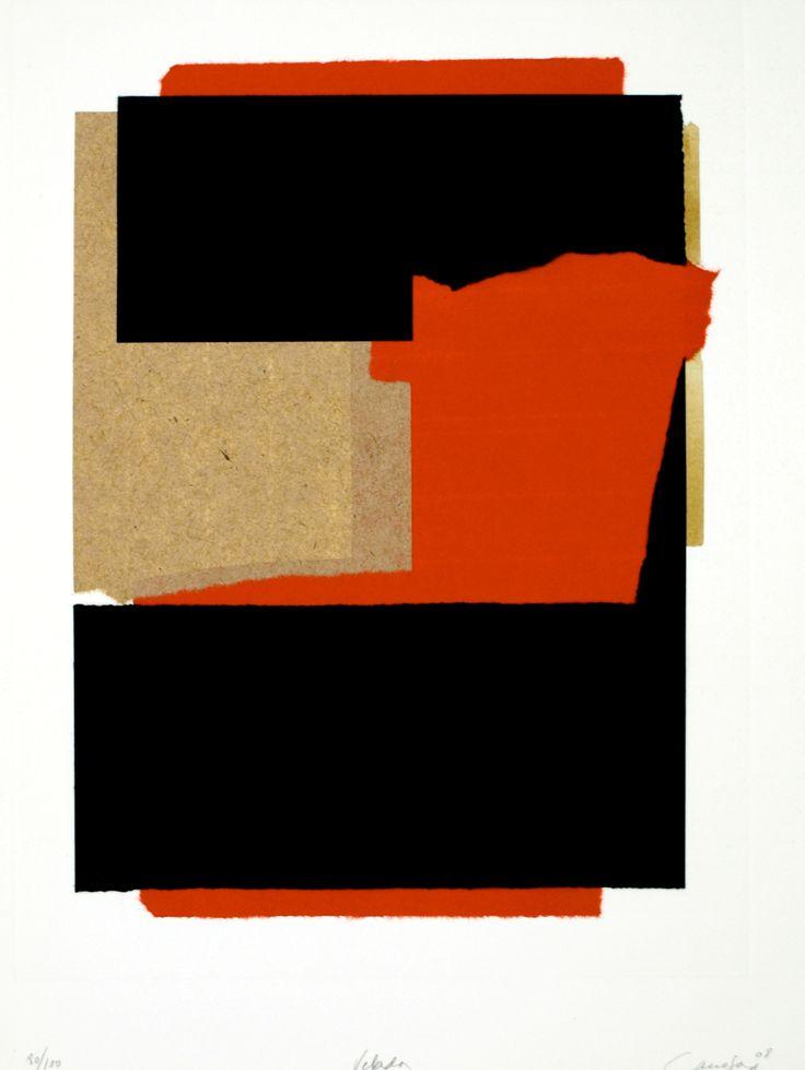 Rafael Canogar > Velada #art #prints #canogar #lithograph | https://www.artetrama.com/en/artworks/rafael-canogar-velada
