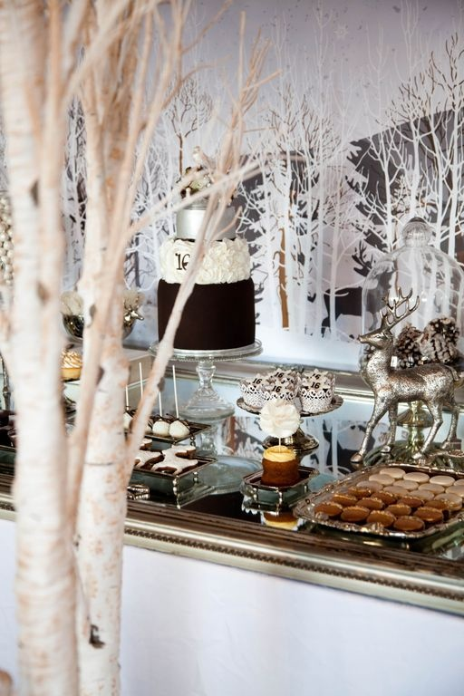 Big Christmas Party Ideas Part - 34: Going All Out On The Winter Wonderland Backdrop Little Big Company Winter  Wonderland Party -