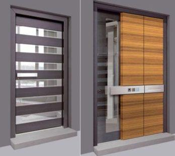 Gambar Pintu Utama Rumah Minimalis Cantik 1
