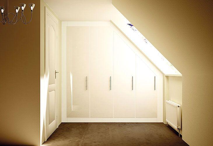 Sloped Ceilings Walk-in Wardrobes