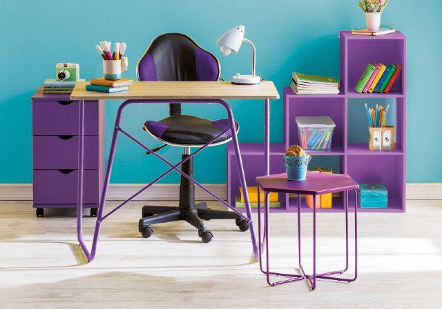 ¡Que tu rincón favorito tenga los colores que te encantan! #Decoración #HomeOffice #Muebles  #YoAmoMiCasa