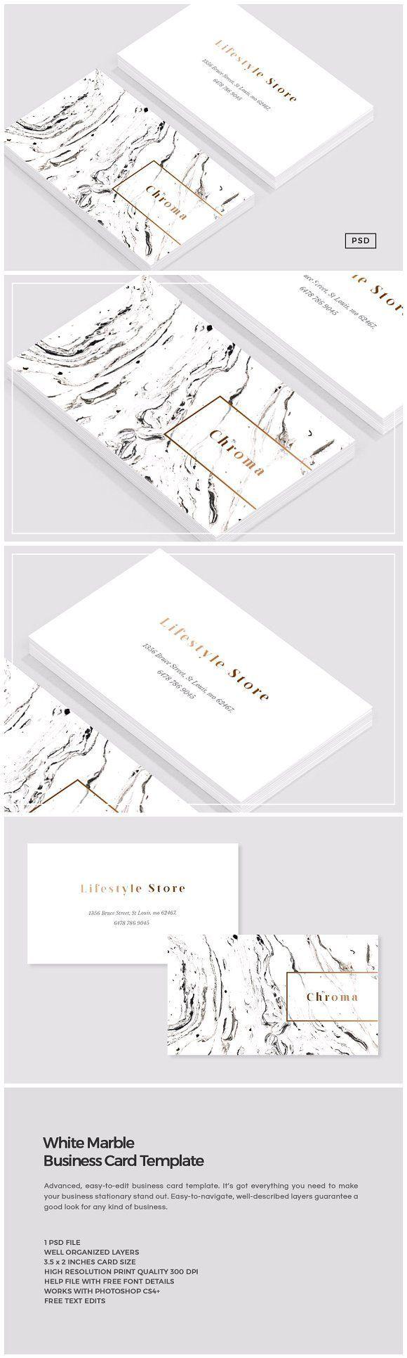 How to Design Impressive Business Cards Using Templates ~ Creative Market Blog