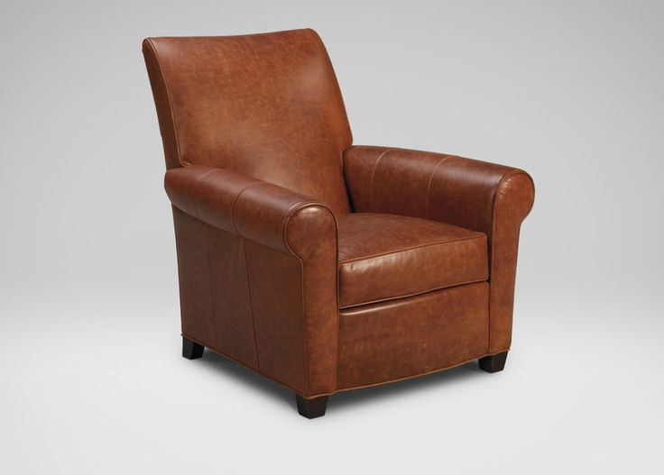 Buy Ethan Allenu0027s Bentley Leather Chair Or Browse Other Products In Chairs  U0026 Chaises.
