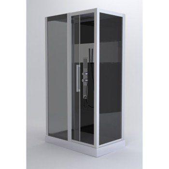 Cabine de douche rectangulaire L.115 x l.90 cm, Trendy   Leroy Merlin