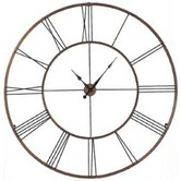 Found it at Wayfair - Extra Large Wall Clock. I want this on my living room wall.