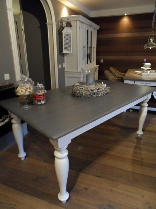 Paint idea for current dinning table.