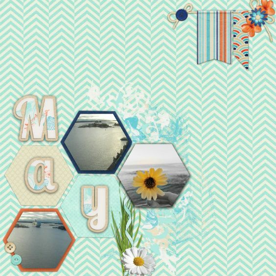 Created using By the beach by Marie H. Designs