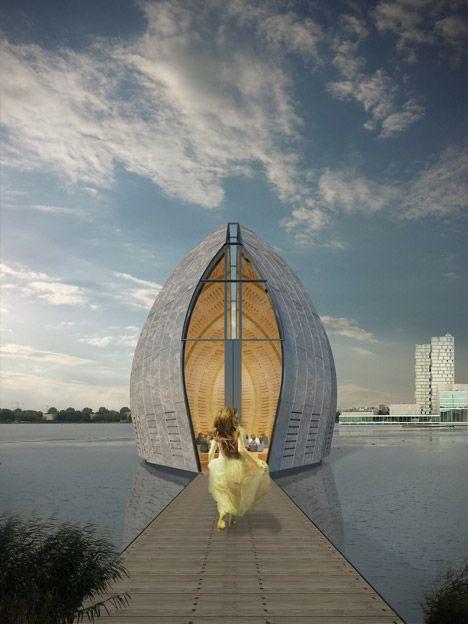 The Weerwater Chapel by Rene van Zuuk Architekten
