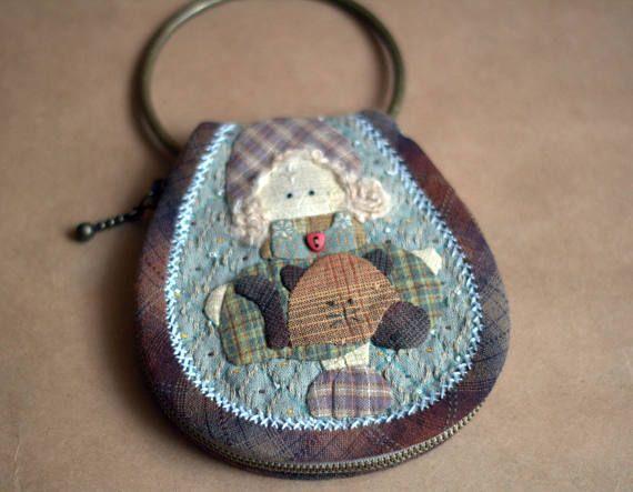 Key case Patchwork case Original gift  Keychains