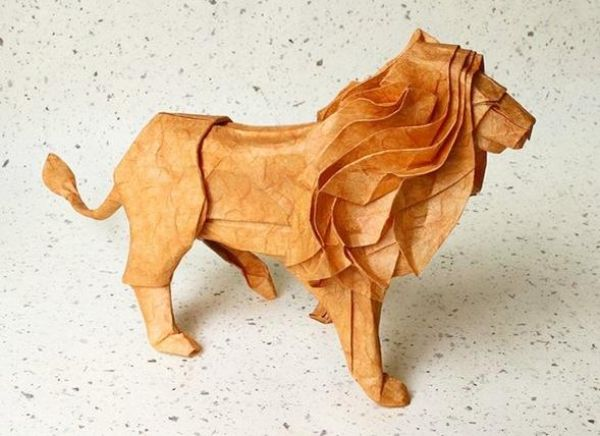 Origami Lion                                                                                                                                                                                 More