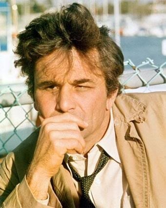 "Columbo (1968) ""Just one other thing is bothering me... ... it's probably nothing but...     Peter Falk as Lieutenant Frank Columbo"