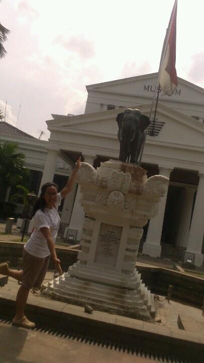 Museum Gajah, Museum Nasional Indonesia, Jakarta - 2 Maret 2013