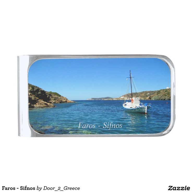 Faros - Sifnos Silver Finish Money Clip