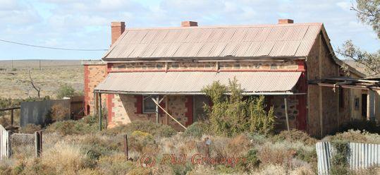 Abandoned farmhouse in Coburn South Australia