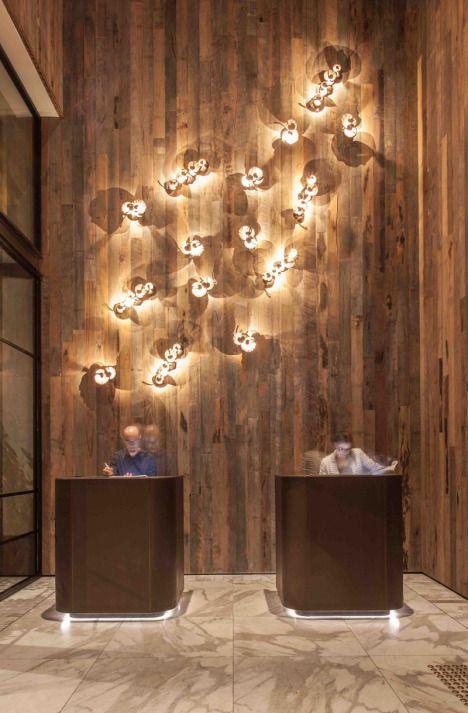 electrolight bates smart architects revitalise pier one sydney harbour lighting art application - Concierge Desk Design