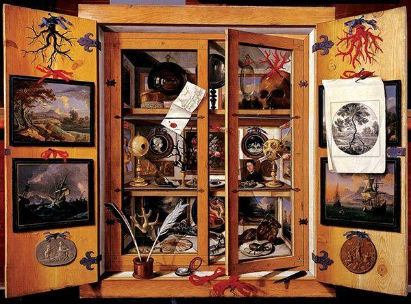 O gabinete de curiosidades | Facta - Revista de Gambiologia